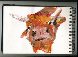 Mad cow by uktribalkid
