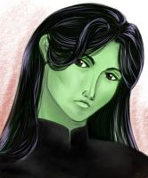 Elphaba by nangke