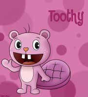 Happy Tree Friends: Toothy by SuperLakitu