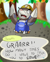 DRILBUR RESETTI. WHAT. by Porridges