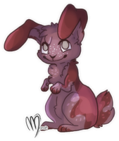 Commission: Bunny by makashy