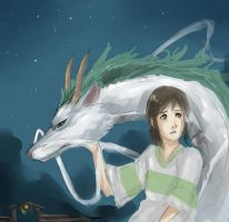 Spirited Away by wiccimm