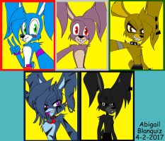 Hot FNAF Bunny Selfies by Kova360