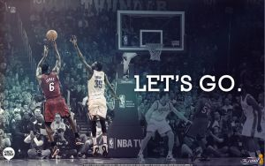 2012 NBA Finals Wallpaper by Angelmaker666