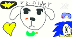 K.K.SILDER the singing icon Dog. by CollinWing
