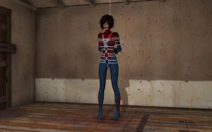 Unmasked Spider-Girl by revpeng