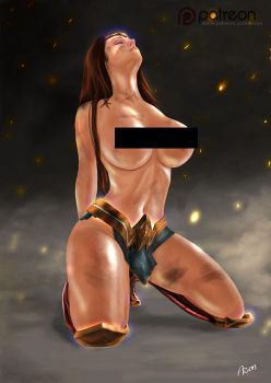 Wonder Woman after Battle by arion69