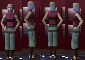 Suigetsu in the Sims 2 by egyptianpanda