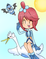 Pokemon- Skyla by poigo