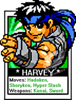 Custom Sprite_HARVEY by samuraifreelance