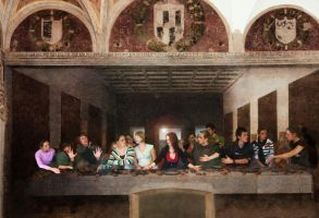 the last supper by grafick