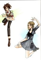 Playing with Foreshortening by Tess-san