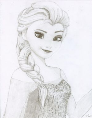 Elsa by NativeFaery