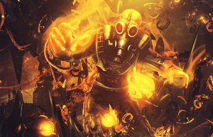 OneCanvas SOTW #20 Fire theme. by SleeNdesigns