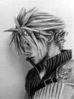 Final Fantasy Cloud Strife WIP by KJS-1