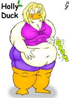 Holly Duck by gokutothez