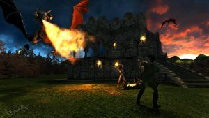 Dragon Siege by Pennes-from-Heaven