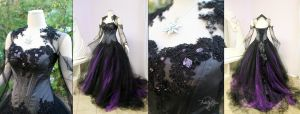 Halloween Wedding Dress by Lillyxandra
