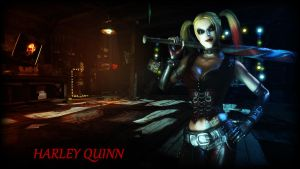 Harley Quinn Wallpaper by BatmanInc