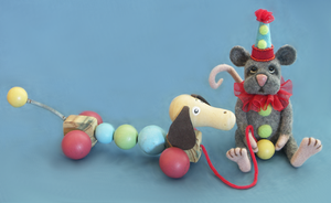 Felipe the mouse by NoahsNovelties