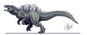 Another Godzilla Design by Art-Minion-Andrew0