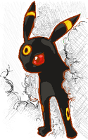 Umbreon by iscaylis