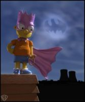 Bartman: The Dark Knight by vikung-fu