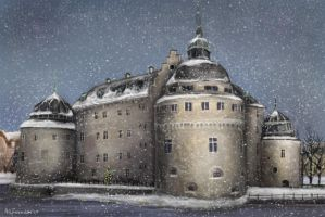 Castle. by Isdrake
