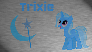 Trixie Wallpaper by RainbowTrixie