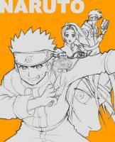 Naruto n Gang by gndagnor