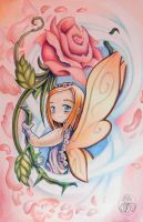 Flower Fairy 1 by Klyde-Chroma