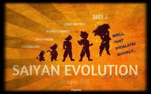A study in Saiyan evolution... by fogdark