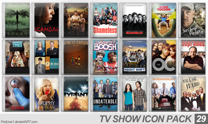 TV Show Icon Pack 29 by FirstLine1