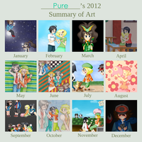 2012 Summary of Art by Pure-Resonance