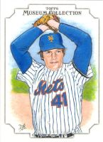 Topps Canvas Collection Sketch Card Tom Seaver by DBergren