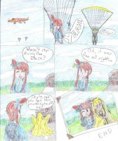 Elesa's First Skydive by Rylade475