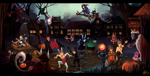 Wildstar Halloween Ball by Momo-Deary