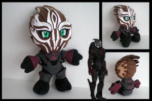 Mass Effect - Nihlus plushie by eitanya