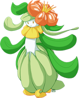 #549 Lilligant by Thalateya