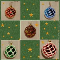 Simple Crochet Ornaments by minami63