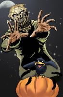 Scarecrow Halloween by dtor91