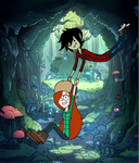 Wendy and Marshall Lee by mairrye