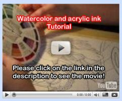 Watercolor Tutorial Video 10 by lady-cybercat