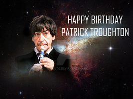 Happy Birthday Patrick Troughton by tjevo9