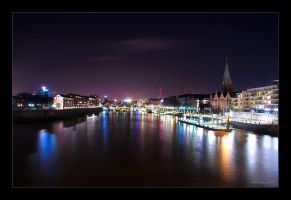 Night at Bremen by densss