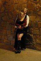 Courting Couple 37 by LinzStock