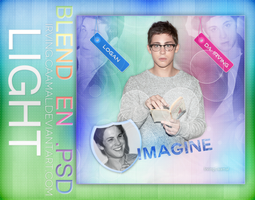 + Blend en psd ~Imagine Logan by Bestouthearted