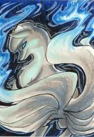 Trade - Ninetales' Will-o-Wisp by Porcubird