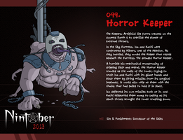 Nintober 099. Horror Keeper by fryguy64