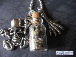Voodoo Hoodoo Necklace by SpellsNSpooks